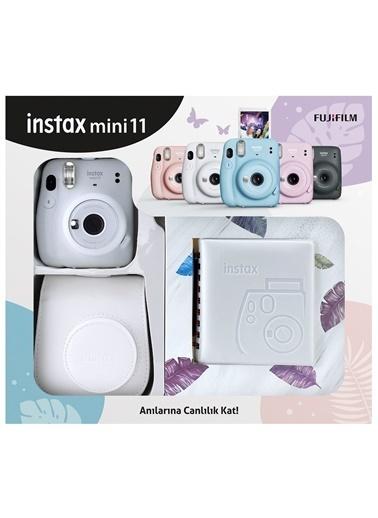 Fujifilm Instax mini 11 Kare Albümlü Beyaz Kit Beyaz
